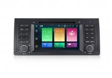 Навигация двоен дин за BMW E53 E39 с ANDROID 8.0 MKD-B739-9965,GPS,WiFi, 4G, 7 инча