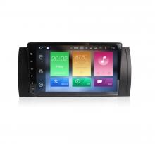 Навигация двоен дин за BMW E53 E39 с Android 8.0, MKD-E39-9, WiFi, GPS, 9 инча