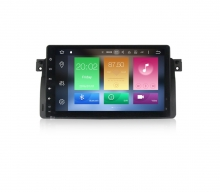 Навигация двоен дин за BMW E46 с Android 8.0, MKD-B946, WiFi, GPS, 9 инча