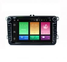 Навигация двоен дин за VW, SEAT, SKODA с ANDROID 8.0, VW0803A8 WiFi, GPS, 8 инча