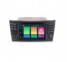 Навигация за Mercedes E-CLASS W211 W219 с Android 8.0, MKD-M711, WiFi, GPS, 7 инча