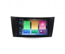 Навигация двоен дин за Mercedes E-CLASS W211 W219 с Android 8.0, MKD-M811, WiFi, GPS, 8 инча