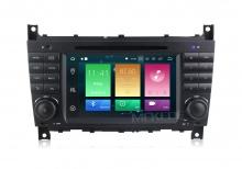 Навигация двоен дин за Mercedes W169 W245 с Android 8.0, MKD-M723, WiFi, GPS, 7 инча