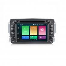 Навигация двоен дин за Mercedes W209 W203 W463 с Android 8.0, MKD-M709, WiFi, GPS, 7 инча