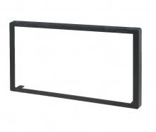 Универсална рамка за двоен дин с външни размери 110x188.5mm, отвор 98x173.5mm