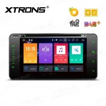 Навигация двоен дин за TOYOTA RAV4, Corolla с Android 8.0, PB78HGTP, WiFi, GPS, 7 инча