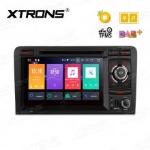 Навигация двоен дин за Audi A3, S3, RS3 Android 8.0, PB78AA3RP, WiFi, GPS, 7 инча