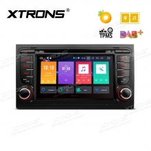 Навигация двоен дин за Audi A4, S4, RS4, SEAT Exeo Android 8.0, PB78AA4P, WiFi, GPS, 7 инча