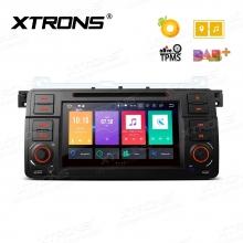 Навигация двоен дин за BMW E46, Android 8.0, PB7846BP WiFi, GPS - 7 инча