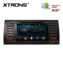 Навигация за BMW X5 E53 с Android 7.1, PCD7753B, WiFi, GPS, 7 инча