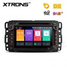 Навигация за Chevrolet, Buick, GMC с Android 8.0, PB78JCCP, WiFi, GPS, 7 инча