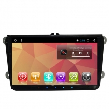 Двоен дин с навигация за VW SEAT SKODA VW8105, Android 8.1, GPS, WiFi, 9 инча