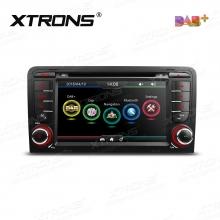 Навигация двоен дин за Audi A3 / S3 / RS3 с WinCE PDAB71A3A, GPS, DVD, 7 инча