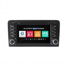 Навигация двоен дин Audi A3 с Android 10 AU0701A10, GPS, WiFi, DVD, 7 инча