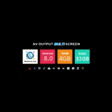 Android 8.0,Процесор:PX5, 4GB RAM, Вградена памет 32GB