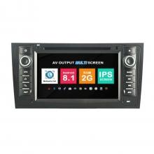 Навигация двоен дин Audi A6 с Android 8.1 AU0707A81, GPS, WiFi, DVD, 7 инча
