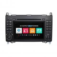 Навигация двоен дин Mercedes W169 W245 W209 W639 с Android 8.1 BZ0703A81, GPS, WiFi, DVD, 7 инча