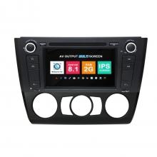 Навигация двоен дин BMW E81 E82 E87 E88 с Android 8.1 BM0706A81, GPS, WiFi, DVD, 7 инча