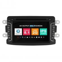 Навигация двоен дин Dacia Renault Lada с Android 8.1 RE0701A81, GPS, WiFi, DVD, 7 инча