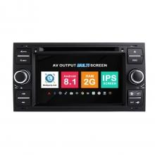 Навигация двоен дин Ford Transit Fusion Kuga Galaxy с Android 8.1 FO0703A81, GPS, WiFi, DVD, 7 инча