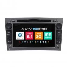 Навигация двоен дин Opel Astra Vectra Meriva с Android 7.1 OP0702A71, GPS, WiFi, DVD, 7 инча
