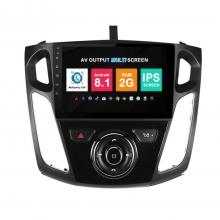 Навигация двоен дин Ford Focus с Android 8.1 FO1007A81, GPS, WiFi, DVD, 9 инча