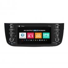 Навигация двоен дин Fiat Linea с Android 8.1 FT0606A81, GPS, WiFi, DVD, 6.2 инча