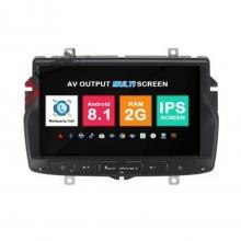 Навигация двоен дин Lada Vesta с Android 8.1 RE0702A81, GPS, WiFi, DVD, 8 инча