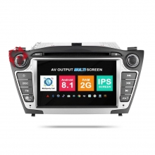 Навигация двоен дин Hyundai Tucson IX35 с Android 8.1 HY0707A81, GPS, WiFi, DVD, 7 инча
