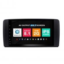 Навигация двоен дин Mercedes W251 с Android 8.1 BZ0911A81, GPS, WiFi, DVD, 9 инча