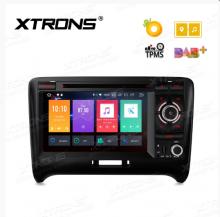 Навигация двоен дин за Audi TT MK2 Android 8.0, PB78ATTP, WiFi, GPS, 7 инча