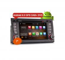 Навигация двоен дин за Audi А4 с Android 8.0 ES5878A, GPS, WiFi, 7 инча