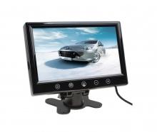 Монитор TFT LCD 10.1 инчов за връзка с камера за паркиране, DVD с 2 видео входа
