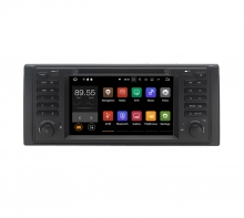 Навигация двоен дин BMW E39 E53 M5 с Android 10 BM0709A10, GPS, WiFi, DVD, 7 инча