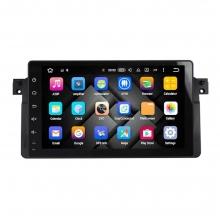 Навигация двоен дин BMW E46 M3 Rover с Android 9.0 BM0922A9, GPS, WiFi, DVD, 9 инча