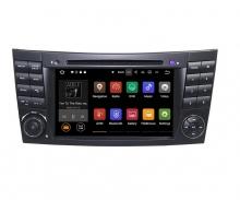 Навигация двоен дин Mercedes W209 W463 W219 W211 с Android 9.0 BZ0701A9, GPS, WiFi, DVD, 7 инча