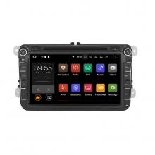 Навигация двоен дин VW SEAT SKODA с Android 9.0 VW0803A9, GPS, WiFi, DVD, 8 инча