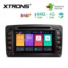 Навигация за Mercedes W203 с Android 9.0, PBX79M203, WiFi, GPS, 7 инча