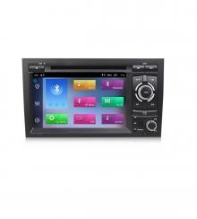 Навигация двоен дин за AUDI A4(02-08) с Android 10 A4471H GPS, WiFi,DVD  7инча