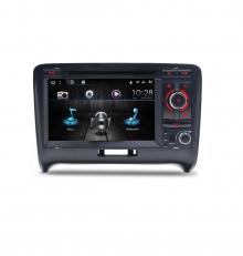 Навигация двоен дин за AUDI TT, TTS с Android 10 A4480H GPS, WiFi,DVD  7инча
