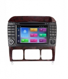 Навигация двоен дин за MERCEDES S-CLASS W220, CL W215   с  Android 9.0  7912H  GPS, DVD,WIFI 7 инча