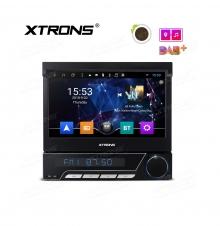 Универсален един дин D782A с Android 8.1, GPS, DVD, Сваляш се панел, 7 инча
