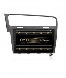 Навигация двоен дин за VW GOLF 7 с  Android 7.1.1 5220H  GPS,WIFI 10.1 инча