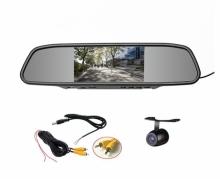 Mp5 Огледало с монитор 4.3 инча АТ BTM-4301A + камера за паркиране