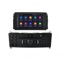 Навигация двоен дин за MERCEDES C-Class W204  с Android 9.0 M7960H GPS, WiFi, DVD 6.2 инча