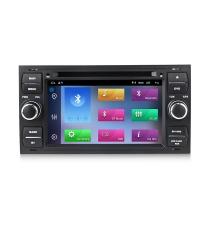 Навигация двоен дин за FORD Focus, Fiesta, Fusion с Android 10 F4403H GPS, WiFi, DVD, 7 инча