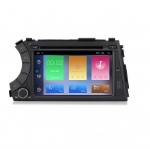 Навигация двоен дин за SSANGYONG Kyron Actyon (05-13)​ с Android 10 S4000H GPS, WiFi, DVD, 7 инча