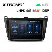 Навигация двоен дин за Mazda 6 PST90M6M с Android 10, GPS, WiFi, 9 инча