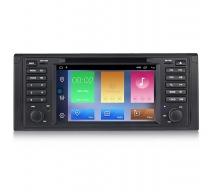Навигация двоен дин за BMW E46 (95-04) с Android 10 BM7530H GPS, WiFi, DVD 7 инча