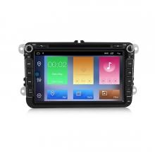 Двоен дин навигация за VW GOLF, PASSAT, TOURAN с Android 10 VW8380H GPS, WiFi,DVD 8 инча